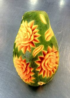 Blog de olivierhautot : sculpture de fruits et légumes (vegetable carving), Papaye