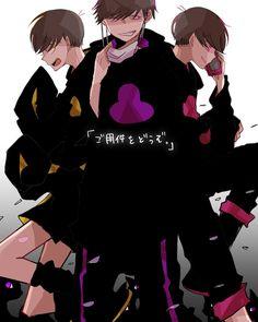 Osomatsu-san- Ichimatsu, Jyushimatsu, and Todomatsu #Anime「♡」
