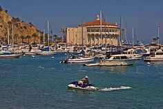 California Photo Gallery: Catalina Island | Away.com jet-skiing in the harbour is a favorite pasttime>>>ew517