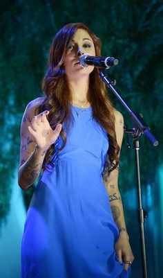 Christina Perri!! I love her song Jar Of Hearts such an amazing song