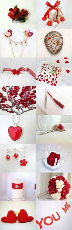 Valentine's Day Wedding by Beth on Etsy--Pinned with TreasuryPin.com
