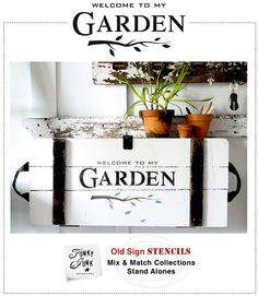 Image of Welcome to my Garden or WITH Potting Shed