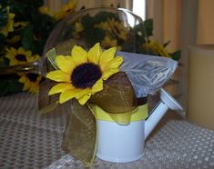Add your favorite treat  Sunflower Wedding Favors - Bing Images