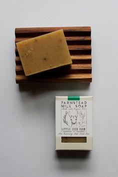 Organic Rosemary Mint Scrub Goats Milk Soap