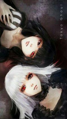 Cool Anime Girl, Anime Art Girl, Manga Kawaii, Manga Anime, Black Lagoon Anime, Ken Kaneki Tokyo Ghoul, Gothic Anime, Fanart, Image Manga