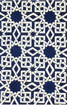 93 Serendipity 3097 Blue Rug 5 x 8
