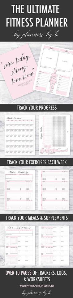 Printable Weight Training Journal Fitness Pinterest Journal - workout log template