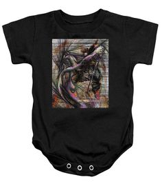 Baby Onesie - Abstract Sketch 1334