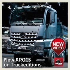 Première mondiale AROCS MERCEDES BENZ video sur Truckeditions  http://www.truckeditions.com/Premiere-mondiale-nouveau-MERCEDES.html#.UQvKuOijmVI