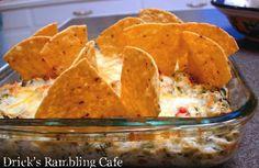 Artichoke, Chiles & Spinach Dip