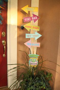 Mickey Mouse Luau Birthday Party Ideas | Photo 26 of 34 | Catch My Party