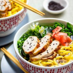 A simple fragrant noodle soup. Use this simple fragrant noodle soup as a template to create your own and enjoy a bowl of warming Asian flavors any time. Noodle Bowls, Noodle Soup, Asian Recipes, Healthy Recipes, Ethnic Recipes, Speedy Recipes, Bowl Of Soup, Latest Recipe, Winter Food