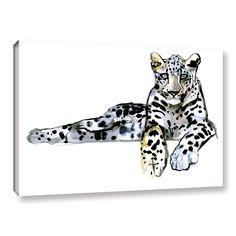 ArtWall Mark Adlington's 'Arabian Leopard II' Gallery Wrapped Canvas