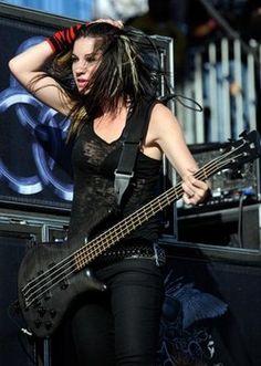 Emma Anzai - Rock Goddess and hottest bass player alive!
