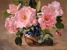 Новая Заря роз - открытка ко дню рождения от автора Anne Cotterill