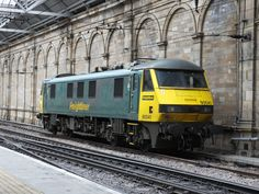 Easily the best British train ride is the overnight Caledonian Sleeper from London to Fort William, the train they call the Deerstalker. Electric Locomotive, Diesel Locomotive, Buy Train Tickets, Union Pacific Train, National Rail, Train Companies, Ben Nevis, Fort William, Train Service
