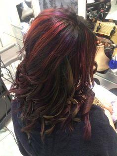 Wykonanie: Ewelina. www.fryzjer.lublin.pl #hair #hairstyle #haircut #dyed #color #Lublin #fryzjer #włosy #fryzury