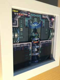 Amazing Metroid Fusion Diorama by Wuppes on tumblr