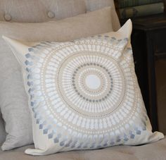 Cutting Edge Stencils shares how to create the perfect accent pillow to match your decor using the Funky Wheel Paint-A-Pillow kit. Accent Pillows, Throw Pillows, Cutting Edge Stencils, Stencil Diy, Perfect Pillow, Stamping, Artworks, Campaign, Craft Ideas