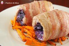 Gli Involtini di Pollo Pancetta e Cavolo Viola sono molto semplici da preparare! Un secondo piatto un po' diverso dal solito, appetitoso e leggero!