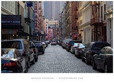 Cobblestone Street, Soho, New York City