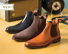 Allen Edmonds - Liverpool Chelsea Boot Liking is in black Men's Shoes, Shoe Boots, Dress Shoes, Allen Edmonds Boots, Style Masculin, Black Leather Ankle Boots, Leather Shoes, Suede Chelsea Boots, Mens Fashion Shoes