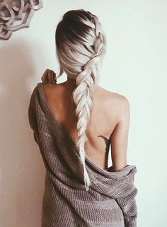 Awesome Braids in Black and White! Awesome Braids in Black and White! Hairstyles for Long Hair, Hair Messy Hairstyles, Pretty Hairstyles, Latest Hairstyles, Pelo Multicolor, Coiffure Hair, Corte Y Color, Great Hair, Hair Day, Hair Looks