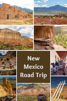 Come along to explore northcentral New Mexico and soak in its cultural richness, gorgeous mountain ranges, high deserts, and fascinating art. New Mexico Road Trip, Road Trip Usa, Mexico Travel, Travel Ideas, Travel Inspiration, Travel Tips, Family Adventure, Adventure Travel, Vacation Ideas