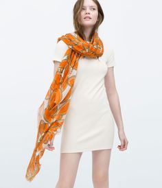 Image 3 of PRINTED SCARF from Zara