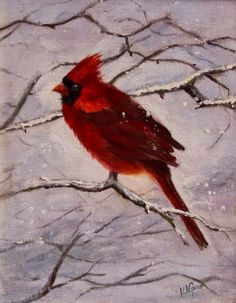 Artists Of Texas Contemporary Paintings and Art: Boston Red by Wanda Caro