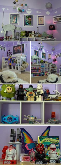 Star Wars Nursery, maybe in a different color! Robert would go crazy over this!