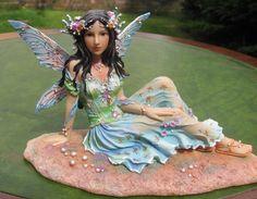 Stunning Ed Faerie Poppets figure Timeless Beauty by Christine Haworth. Rare | eBay