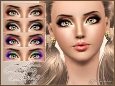 Cotton Candy Eyeshadow at Praline Sims - Sims 3 Finds
