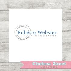 SALE  Premade logo and watermark design  3 by chelseastreetdesigns, $15.00