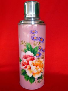 Vintage Thermos  Coffee Thermos  Cup Thermos  by vintageretros, $36.90