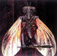 Wayne Barlowe's Inferno – Walking Through Hell – Devil On a Dinosaur