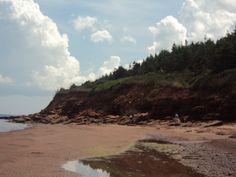 P E I beach