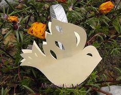 3d paper doves