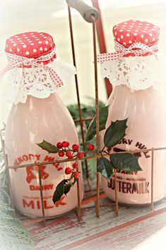 December moments | strawberry milk