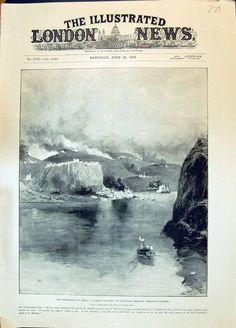 1896 Insurrection Crete Turkish War Ship Platanias Shelling Christian Villages