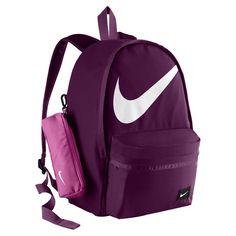 Nike Halfday Back To School Kids' Backpack (Purple) - - - August 04 2019 at Nike School Backpacks, Cute Backpacks For School, Cool Backpacks, Teen Backpacks, Mochila Do Bts, Mochila Adidas, Back To School Kids, Middle School, Nike Bags