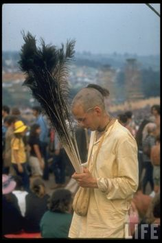 Woodstock, August 1969   Happy