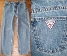 Guess Jeans! A must have in the 80's