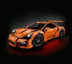 LEGO Technic Porsche 911 GT3 RS (42056) Porsche 911 Gt3, Legos, History Of Lego, Lego Minion, Lego Simpsons, Lego Hogwarts, Lego Kits, The Blues Brothers, Lego Ship