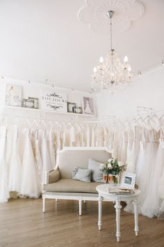 Toujours Wedding House Boutique Tour | SouthBound Bride | http://southboundbride.com/toujours-wedding-house-boutique-tour | Credit: Bright Girl