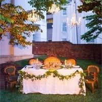Courtyard Sweetheart Table