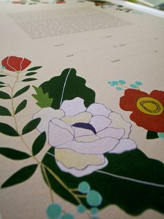 Ketubah - Botanicals by UrbanCollective on Etsy