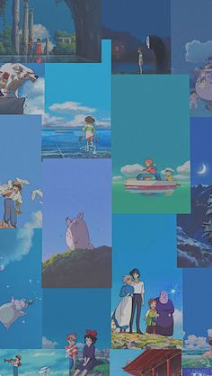 Anime Scenery Wallpaper, Cute Anime Wallpaper, Cartoon Wallpaper, Studio Ghibli Art, Studio Ghibli Movies, Animes Wallpapers, Cute Wallpapers, Personajes Studio Ghibli, Studio Ghibli Background