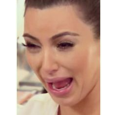 Kim Kardashian Cry Face!  Why BOTOX is a no no lol I can't stop laughing at this