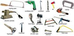 Tools #Aprender #inglés #vocabulario